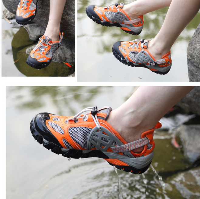 Damenschuhe Mesh Holes Sandale Sandale Holes Travel Hiking outdoor sneaker Sports schuhe Athletic Oxf 49580f