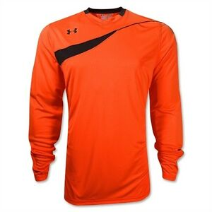 e7834fee10b Under Armour UA Horizontal Men s Soccer GoalKeeper Jersey 1227683 ...