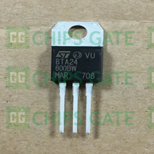 7PCS BTA24-600CW Encapsulation:TO-220,25A TRIACS