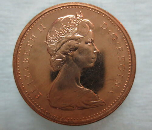 1967 CANADA 1 CENT PROOF-LIKE PENNY COIN
