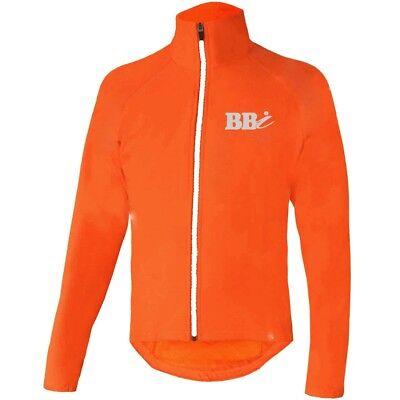 Offen Mens Cycling Rain Jacket Waterproof High Visibility Running Top Rain Cover Hiviz Verschiedene Stile