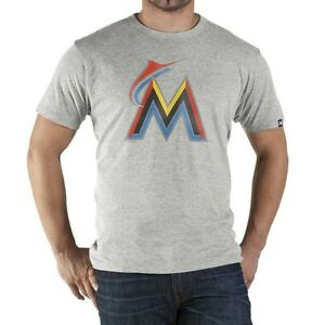 815ca4f4 Details about Genuine 47 Brand Miami Marlins Derby Men's T-shirt