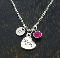 Mom Necklace, Mom Charm, Mom Pendant, Mom Jewelry, Mother Necklace, Personalized