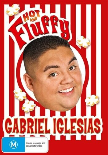 1 of 1 - Gabriel Iglesias - Hot And Fluffy (DVD, 2010) Mint Condition