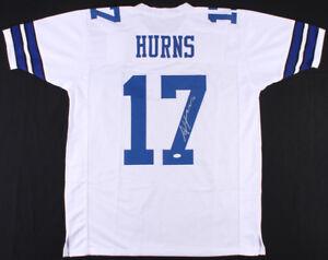 a1e6fd21e Allen Hurns Signed Dallas Cowboys Jersey (JSA COA) Univ. of Miami ...