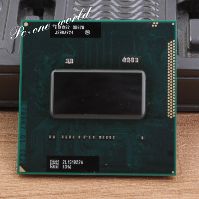 100% OK SR02W Intel Core i7-2760QM 2.4GHz Processor Socket G2 CPU