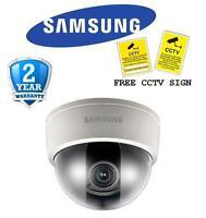 Br Samsung Snd-5061p 1.3 Megapixel Hd Internal Network Varifocal Dome Camera Poe