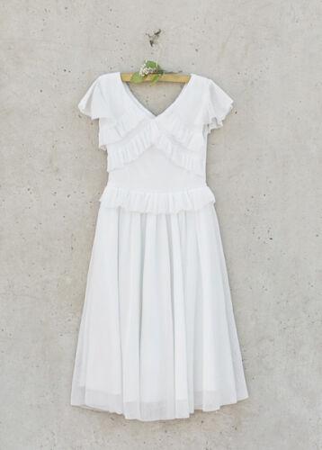 ❤ Free Ship❤ NWT Joyfolie Harlow Dress in Creme Giirls sz 5