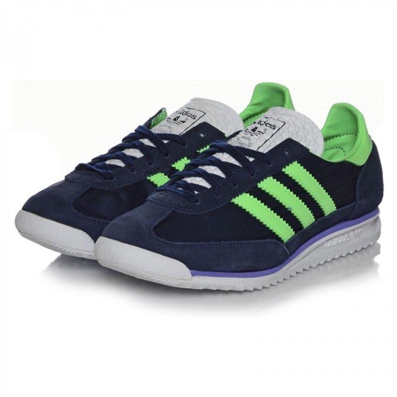 Adidas Sl72 Sl72 Sl72 Para Mujer ligero Retro Funcionando azul Zapatillas Zapatos del Reino Unido - 6_6.5 _ 7_8  mejor reputación