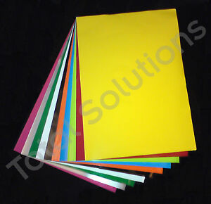5-SELF-ADHESIVE-VINYL-SHEETS-A4-CHOOSE-FROM-26-COLOURS
