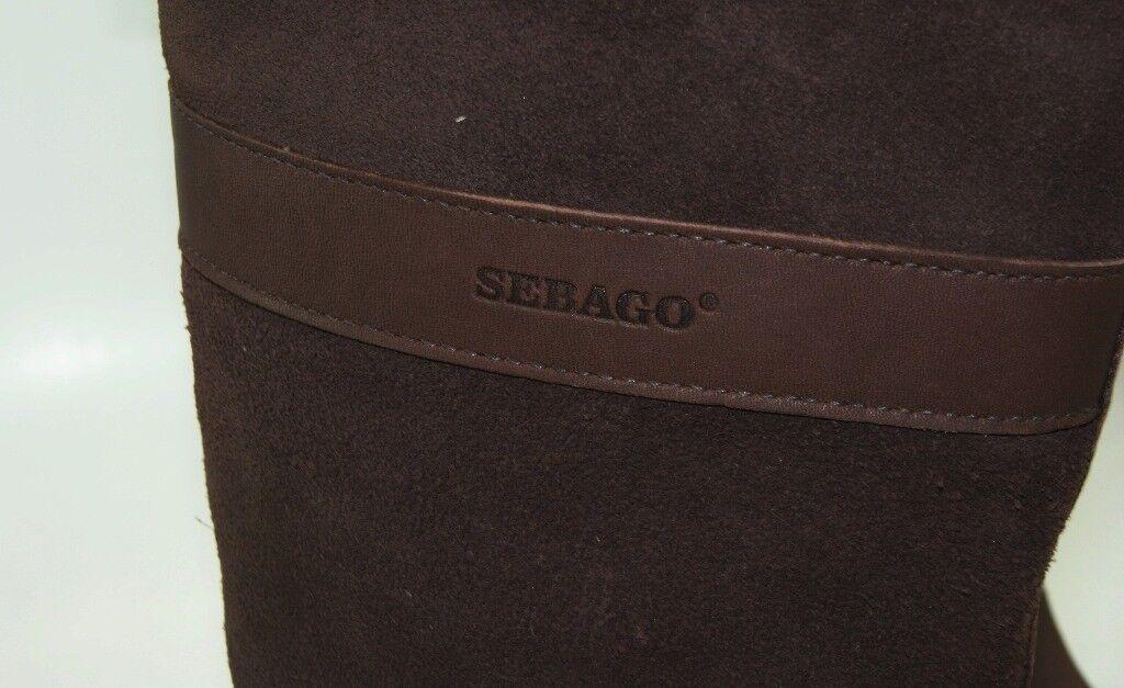 Sebago High Dorset High Sebago waterproof Boots señora botas de invierno nuevo b51200 83ea1e