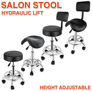 Remarkable Details About Adjustable Hydraulic Swivel Stool Salon Spatattoo Chair Facial Massage Equipment Caraccident5 Cool Chair Designs And Ideas Caraccident5Info