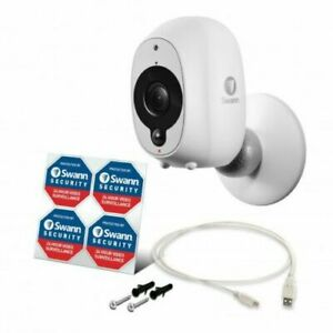Details about Swann Smart Security Camera Wire Free Wifi HD 1080p  Rechargeable SWWHD-INTCAM x1