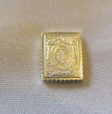 SOLID SILVER STAMP RUSSIA 1875 1879 SEVEN-KOPECK ARMS CENTRE INVERTED