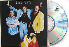 ACE OF BASE CD Beautiful Life (3:40) USA PROMO Graphic Disc UNPLAYED