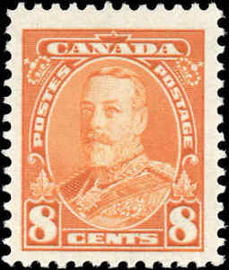 1935-Canada-Mint-NH-F-VF-Scott-222-8c-Pictorial-Issue-Stamp