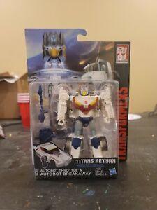 Transformers Titans Return Autobot Breakaway & Throttle MOC