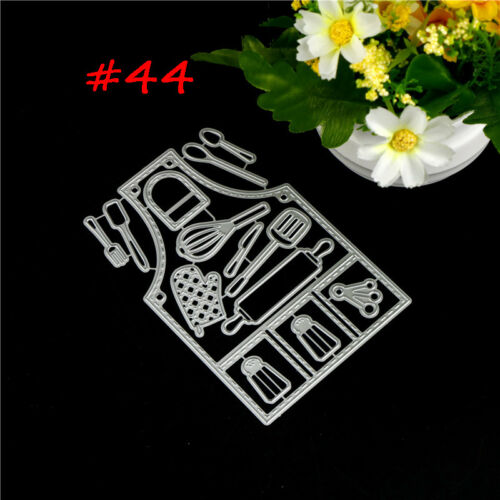 75 Styles Metal Cutting Die For DIY Scrapbooking Album Paper Cards Embossing ~!