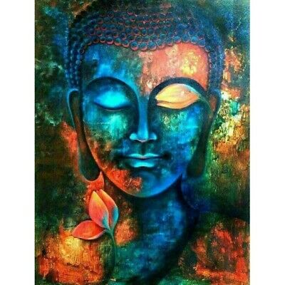 DIY Buddha Family Diamond Painting Cross Stitch Kit Embroidery Decor Gift Art