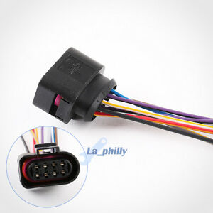 new 8 pin connector plug pigtail 8d0973734 for vw audi skoda seat ebay rh ebay com Automotive Wiring Harness Connectors 8 Pin Trailer Connector