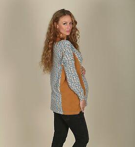 Umstandsshirt-Stillshirt-bov-38-40-42-44-46-48-50-52-54-NEU