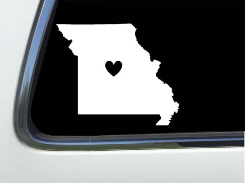"""Missouri STATE HEART 6/"""" decal AS1222 ThatLilCabin"""