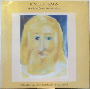 NISCIENCE MEMBERS King of Kings: New Songs LP Religious Group – Sealed Copy