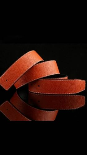 ORANGE WOMENS DESIGNER BELTS FOR WOMEN LADIES REVERSIBLE LEATHER BELT O H 9011