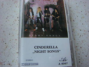 rare MC Cinderella Night Songs, Poland - Boniewo, Polska - rare MC Cinderella Night Songs, Poland - Boniewo, Polska