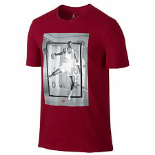 NIKE Jordan Retro 4 Hangtime T-Shirt sz XL X-Large Gym Red Air IV Jumpman NEW