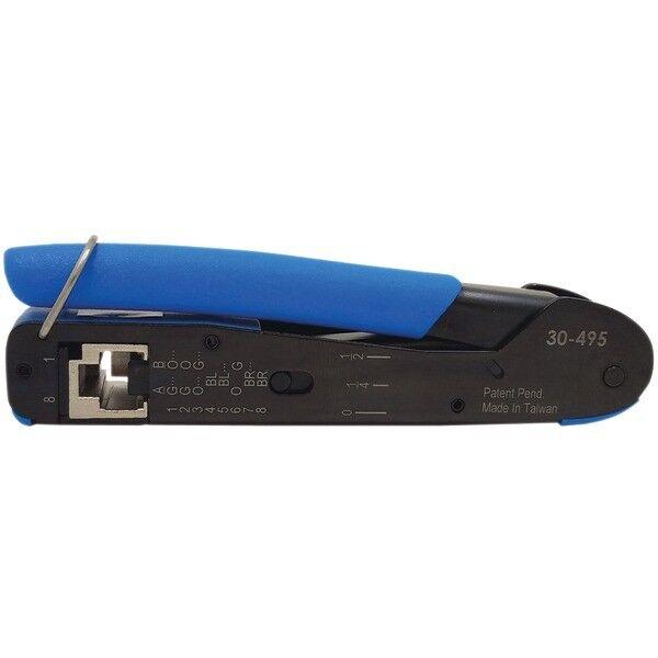 Ideal 30495 Ft45 Feed Thru Modular Plug Crimp Tool for sale online