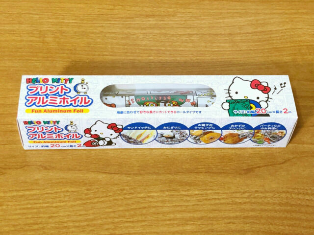 SANRIO Hello Kitty Kawaii Cute Aluminum Foil  1 roll kitchenware comic design