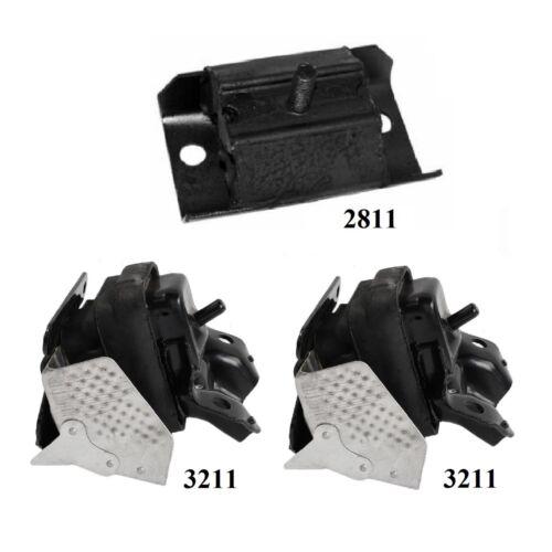 3 PCS FRONT MOTOR /& TRANS MOUNT FIT 2008-2009 Chevy Tahoe 2WD; 4.8L; 5.3L /& 6.2L