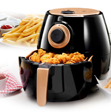 Gotham Steel Air Fryer XL 4QT, Rapid Air Technology, 80% Less Fat & Calories NEW
