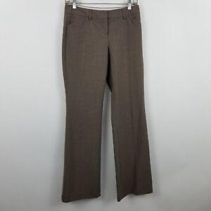 Express-Editor-Women-039-s-Brown-Trouser-Career-Dress-Pants-Sz-0R