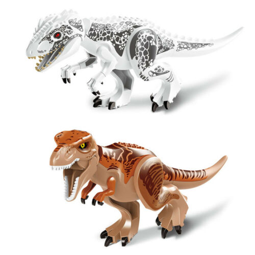 DIY ABS Dinosaur Children Building Blocks Education Toy Bricks Kid Birthday Gift
