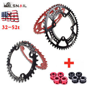 SNAIL-32T-52T-MTB-Bike-104BCD-Narrow-Wide-Bicycle-Sprocket-Chainring-Chainwheel