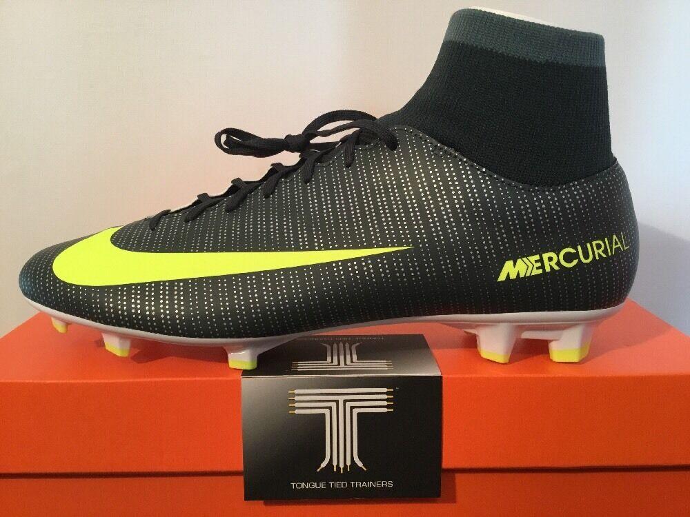 Nike MERCURIAL VICTORY vi CR7 DF D FG sockavvio  903605 373  del Regno Unito taglia 9  EURO 44