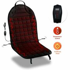 Zone Tech Thickening Heated Car Seat Heater Chair Cushion Warmer Cover 12V Pad