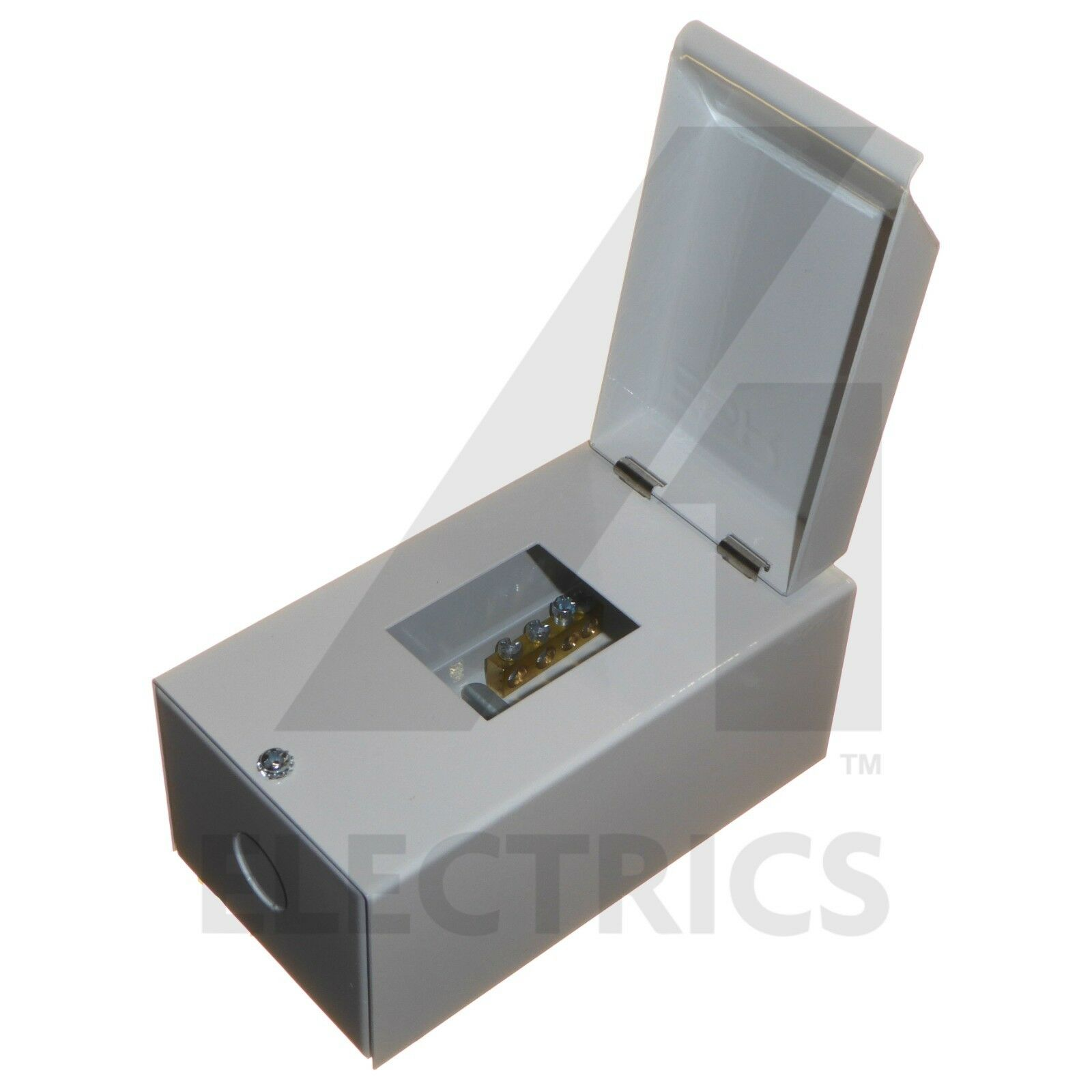 ESR ME2 ME4 2 4 IP40 MODULAR METAL CLAD ENCLOSURE UNIT DIN RAIL EARTH BAR