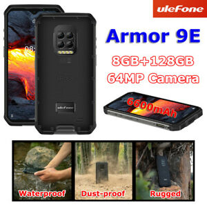 6.67 in Ulefone Armor 9E IP68 Waterproof Smartphone 8GB 128GB Helio P90 6600mAh