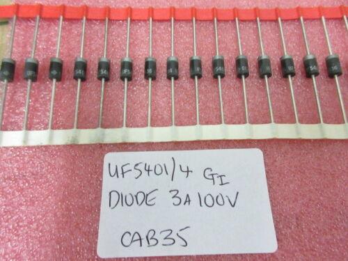 UF5401 Ultra Fast Diodes 3A 100V   10 Per Strip