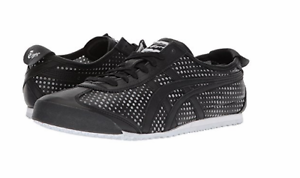 ONITSUKA TIGER D816L.9090 MEXICO 66 Mn´s Black//Black Leather Lifestyle Shoes M