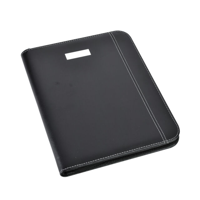 A4 Zipped Conference Folder With Calculator & Pad/ Portfolio CL-775