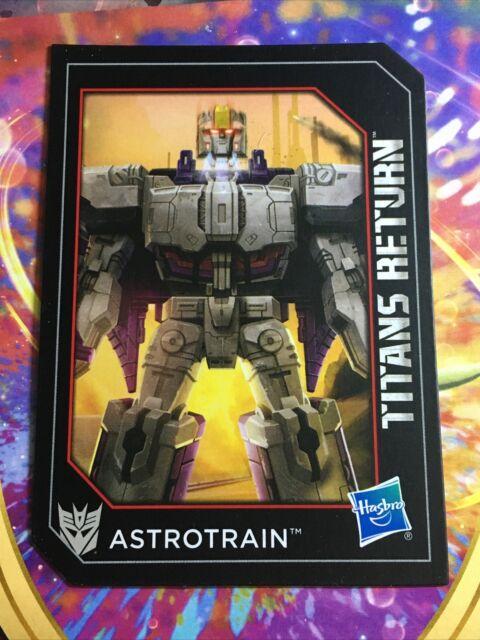 Transformers Titans Return Megatron Collectible Rare Tech Spec Card