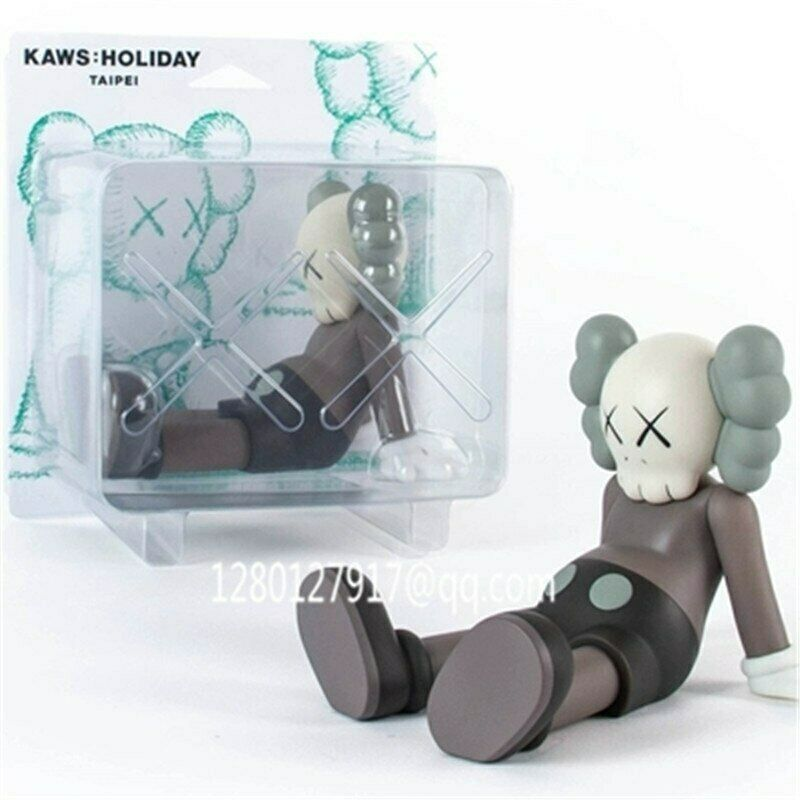 KAWS compañero OriginalFake KAWS Medicom Holiday Taipei Juguete 10  - Edición Limitada