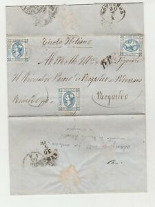 STORIA-POSTALE-1863-REGNO-LITOGRAFICO-C-15-I-TIPO-E-2965