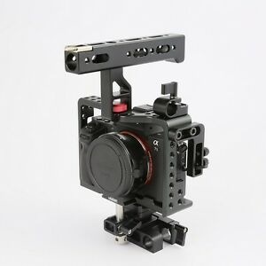 Details about Rig Cage For SONY Alpha A7 Series A7 A7S A7SII A7S2 A7R A7RII  A7R2