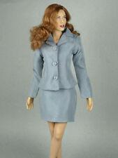 1/6 Scale Phicen, Kumik, Hot Toys & NT - Female Secretary Silver Gray Suit