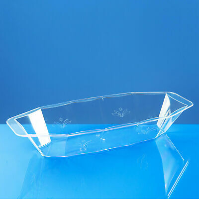 Heavyweight Party /& Wedding 30 X Clear Disposable Plastic Serving Dishes //Bowls